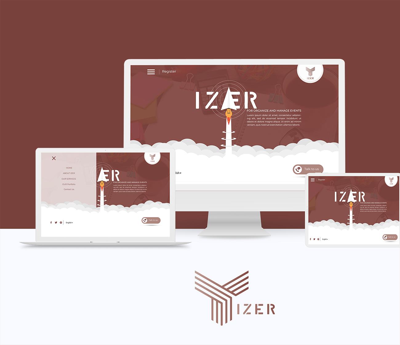 موقع شركة ايزر لتنظيم الفعاليات